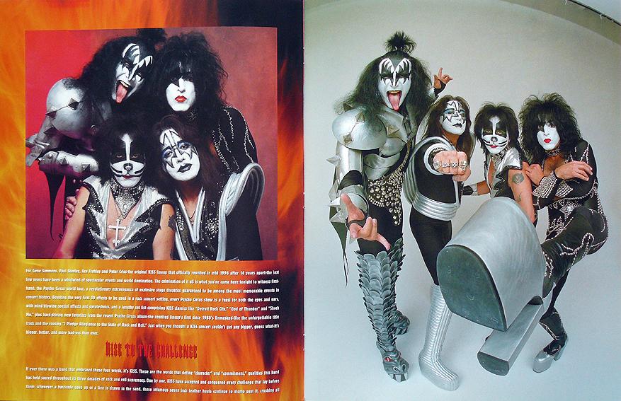 Kiss psycho circus tour book