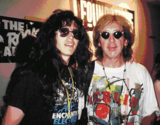 Eric Singer And Peter Criss